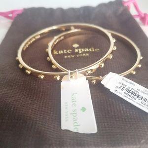 SALE ❤ Kate Spade Set of 2 GT Bangle Bracelet NWT